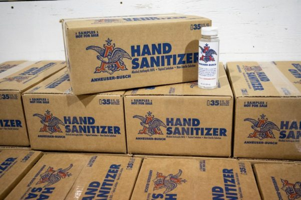 anheuser busch hand sanitizer 1 bottle